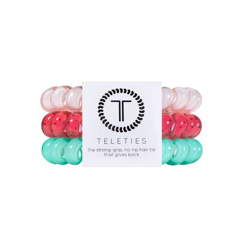 Teleties 3 Pack Large, One in a Melon