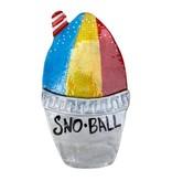 Snoball Ceramic Plaque