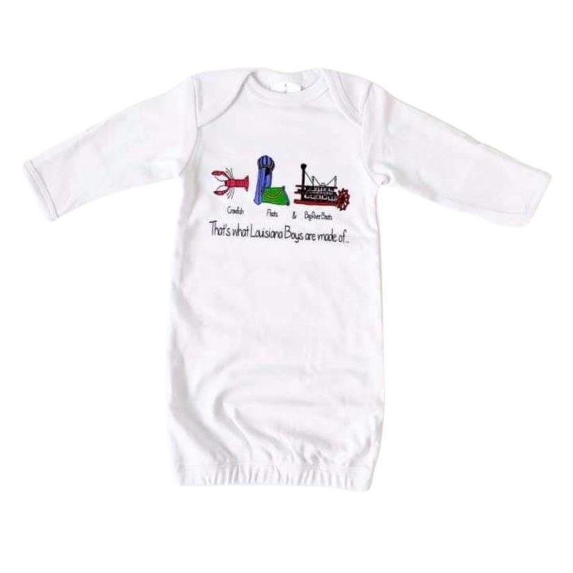 Louisiana Boys Gown,  0-3