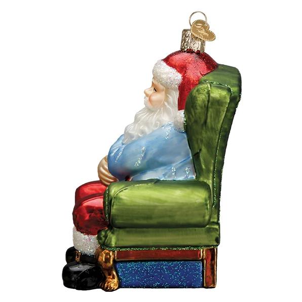 Vaccinated Santa Ornament