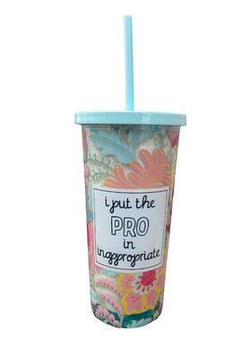 Pro in Inappropriate Tumbler