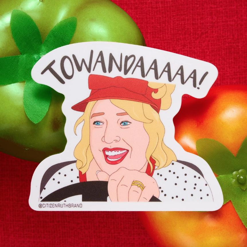 Towanda! Fried Green Tomatoes Sticker