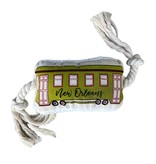 New Orleans Streetcar Dog Toy