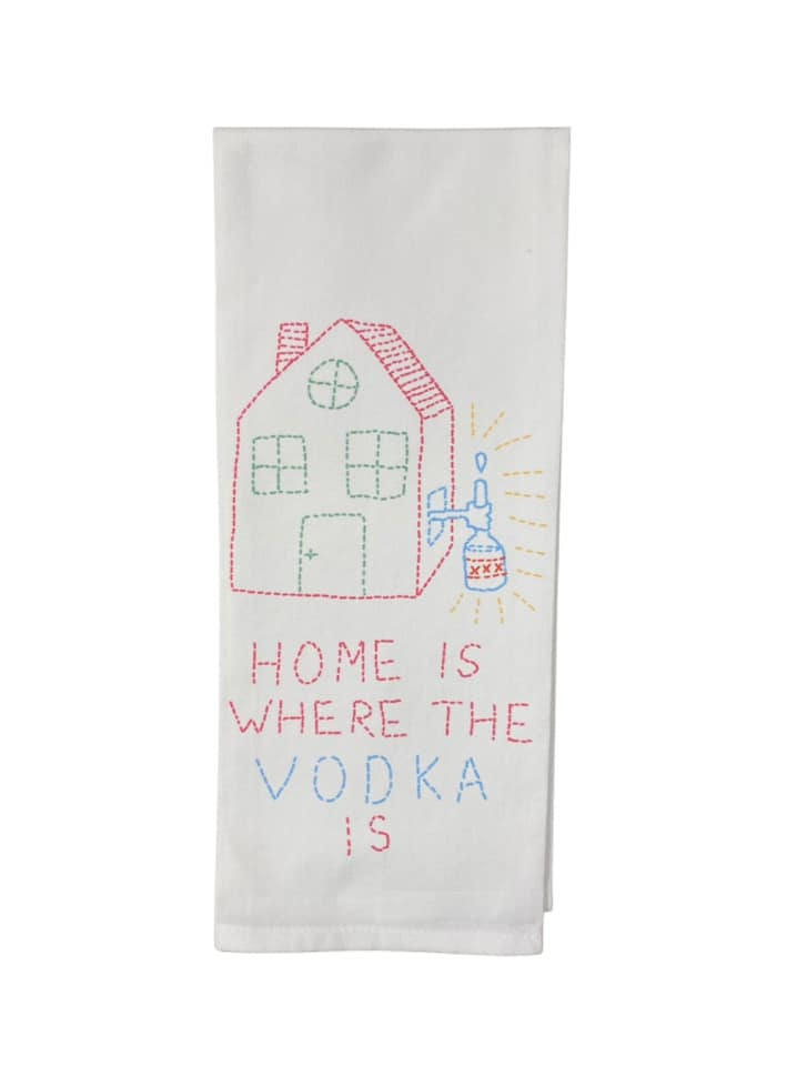 Home is Where the Vodka is Towel