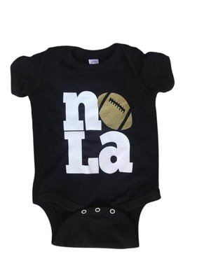 NOLA Love Football Onesie