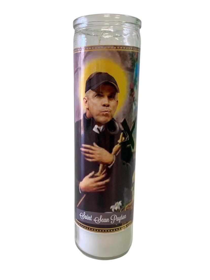 Sean Payton Saint Candle