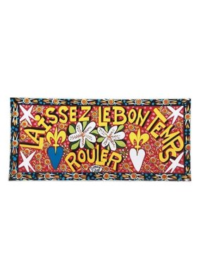 Simon of New Orleans Laissez Les Bon Temps Rouler Magnet