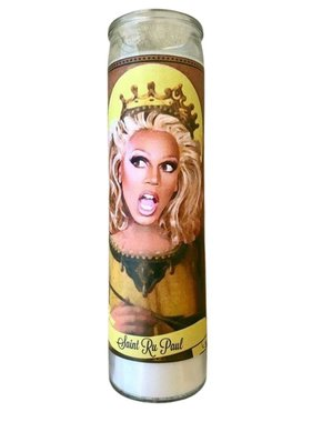 RuPaul Saint Candle