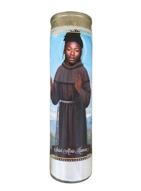 Alvin Kamara Saint Candle