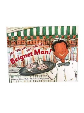 Fry'em Up Beignet Man Book