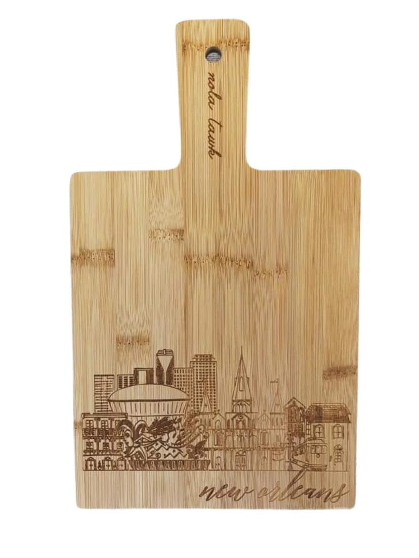 NOLA Skyline Cutting Board