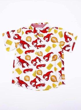 Crawfish Boil Button Up, Kids