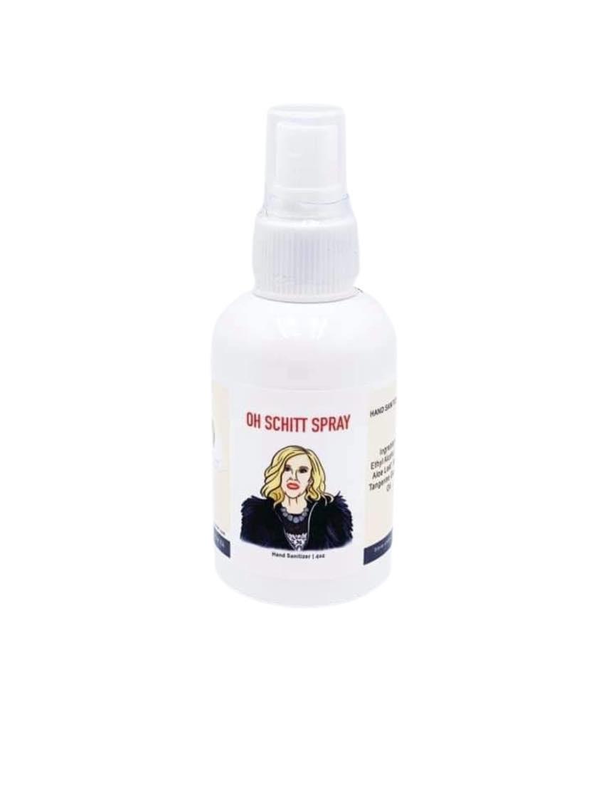 Moira Oh Schitt  Spray Hand Sanitizer