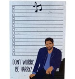 Don't Worry, Be Harry! Notepad