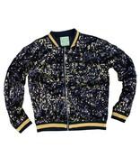 Black & Gold Sequin Jacket