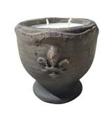 13 oz. Ceramic Jar Candle, Zydeco Amber