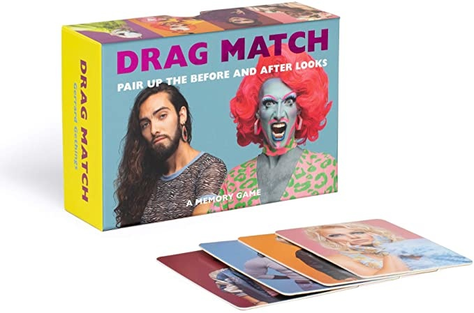 Drag Match Card Game