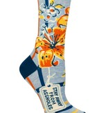 Blue Q Stay Away Socks