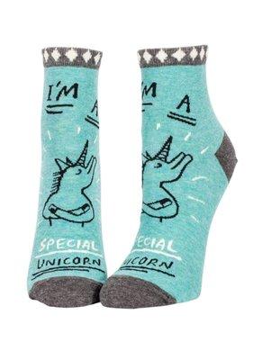 Blue Q Special Unicorn Ankle Socks