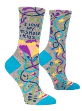 Blue Q Love My Asshole Kids Socks