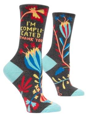 Blue Q Blue Q I'm Complicated Socks