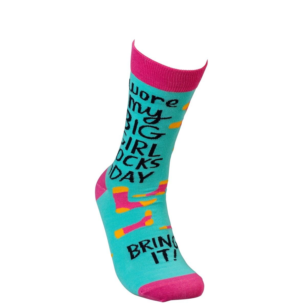 Big Girl Socks Today Socks