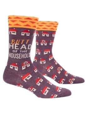 Blue Q Butthead Household Socks, Mens