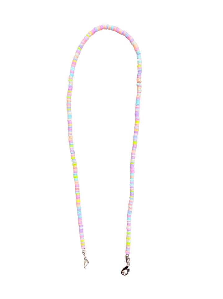 Rainbow Shell Face Mask Chain