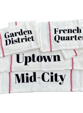 Neighborhood Stamped Towel Set