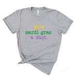 Give Mardi Gras a Shot Tee