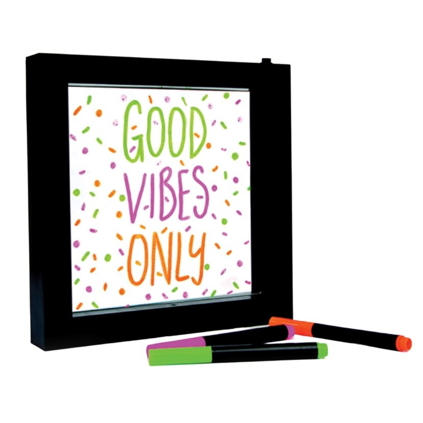 Neon Effects Message Frame
