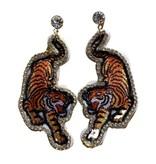 Tiger Bling Earrings