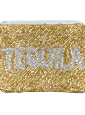 Tequila Beaded Pouch