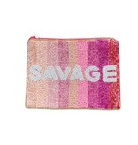 Savage Beaded Pouch