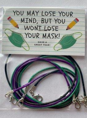 Face Mask Lanyard, 3 Pack