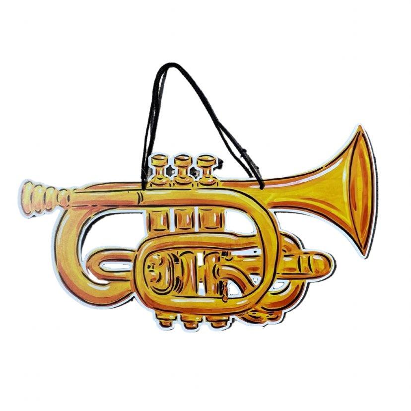 Trumpet Door Hanger