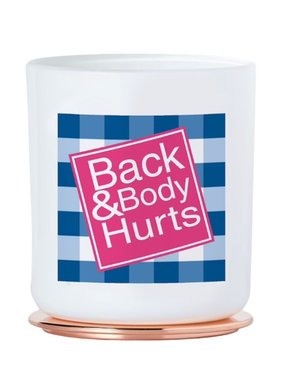 Back & Body Hurts Candle
