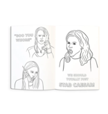 Mean Girls Coloring Book