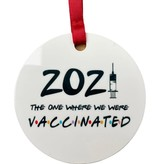 2021 Vaccinated Ornament