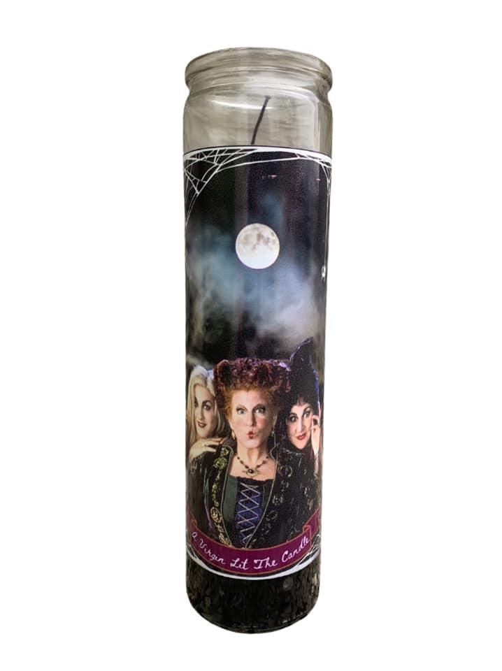 Sanderson Sisters Saint Candle
