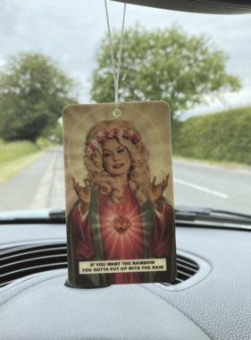 Saint Dolly Parton Air Freshener