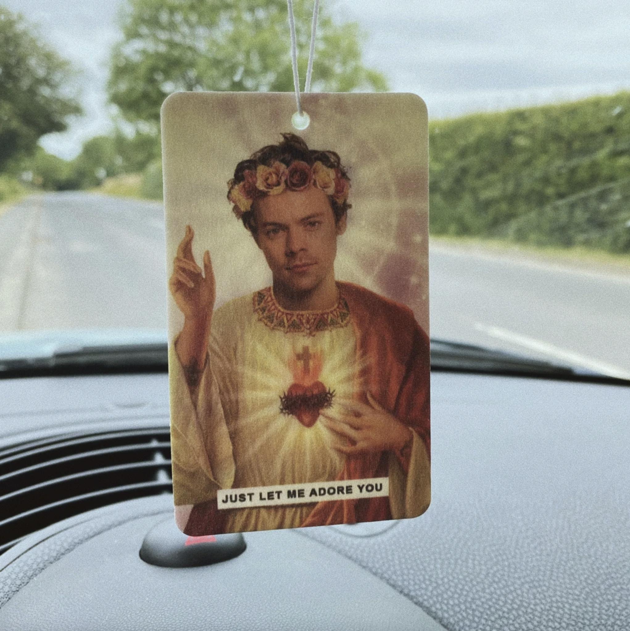 Saint Harry Styles Air Freshener
