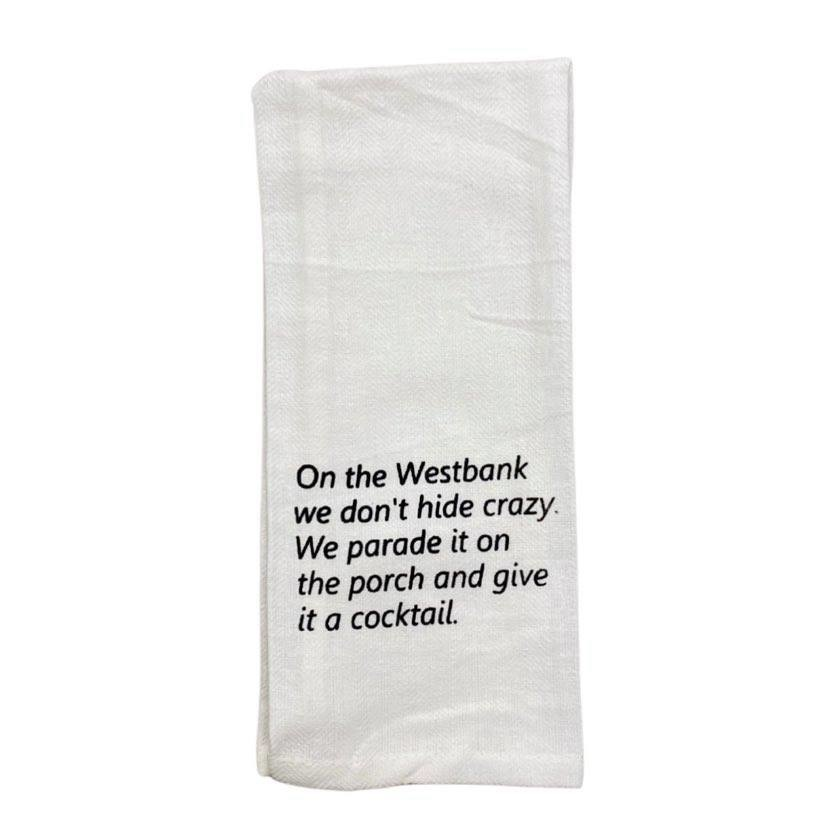 On The Westbank Towel