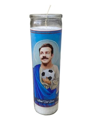 Ted Lasso Saint Candle
