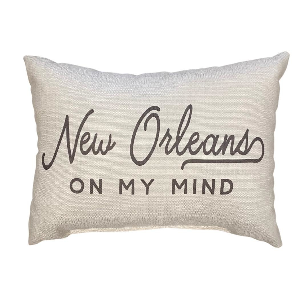 New Orleans on my Mind Pillow