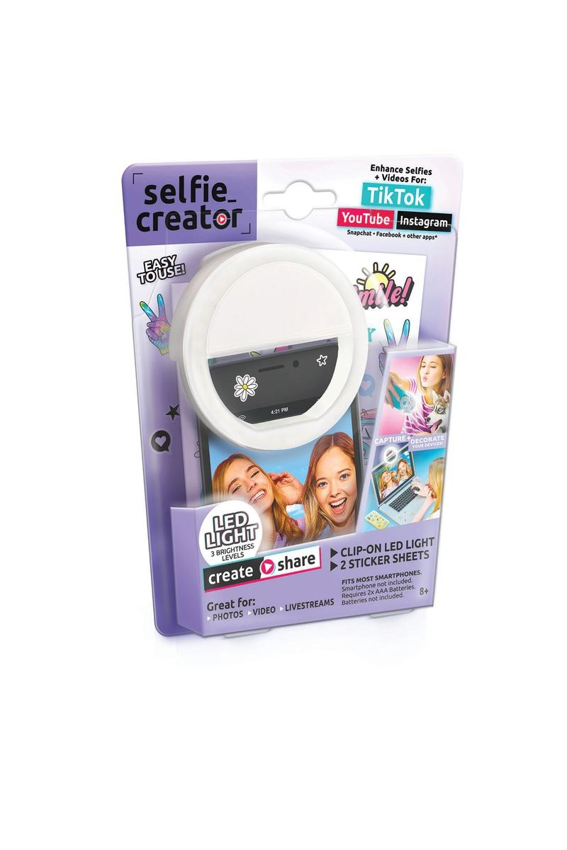 Selfie Creator Clip on LED Light