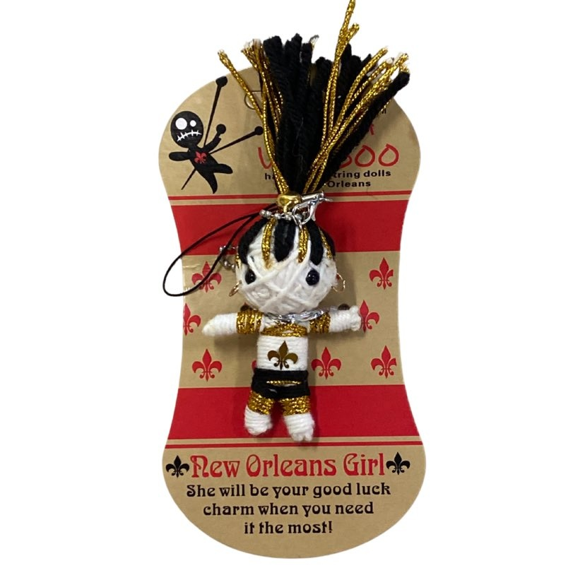 New Orleans Girl Voodoo String Doll