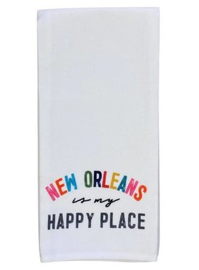 New Orleans Happy Place Towel