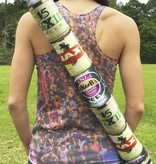 Beer Cooler Tube with Cross Body Strap