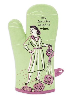 Blue Q My Favorite Salad Oven Mitt